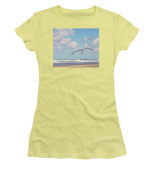 Gull Getaway Women's T-Shirt (Athletic Fit)