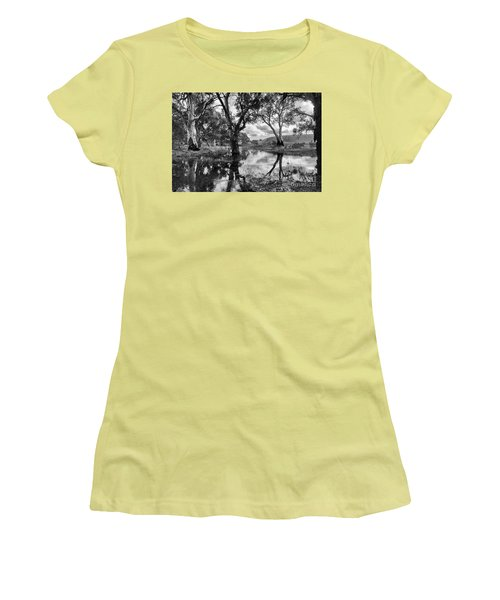 Gum Creek Women's T-Shirt (Junior Cut) by Douglas Barnard
