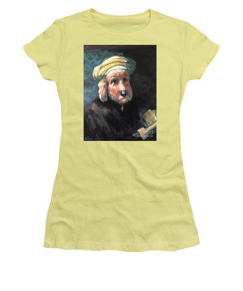 Gunther's Self Portrait Women's T-Shirt (Junior Cut) by Diane Daigle