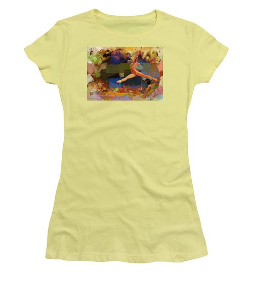 Gymnast Girl Women's T-Shirt (Athletic Fit)