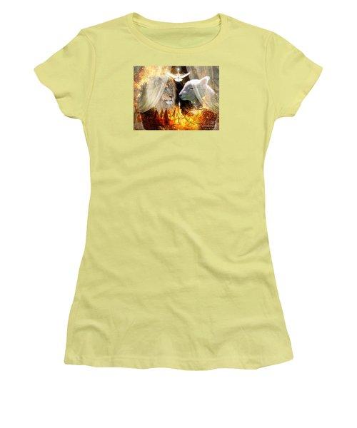 Ha-shilush Ha-kadosh  Women's T-Shirt (Athletic Fit)