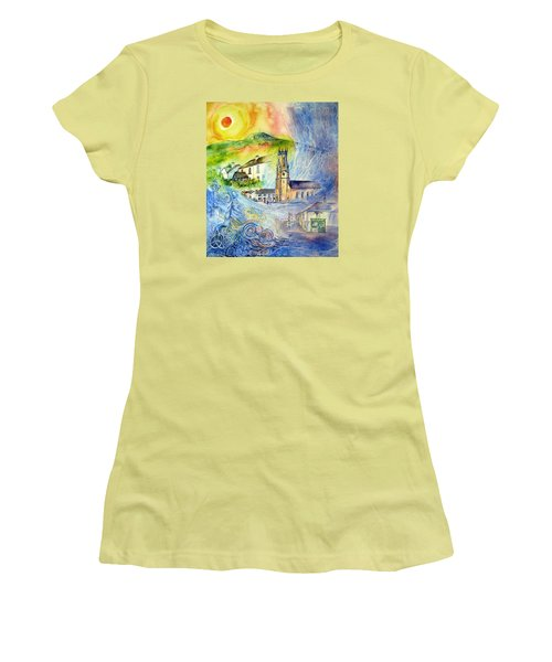 Hacketstown- Aide Memoire  Women's T-Shirt (Junior Cut) by Trudi Doyle