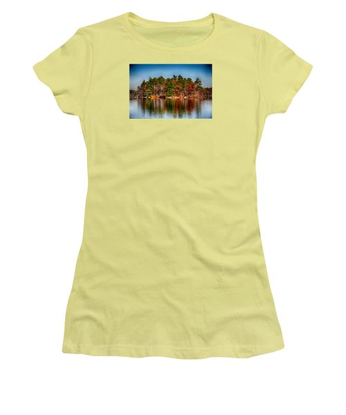 Haggetts Reflections Women's T-Shirt (Athletic Fit)