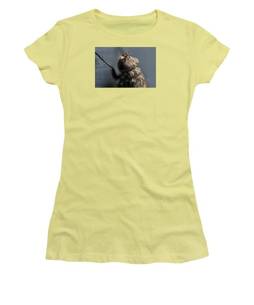Women's T-Shirt (Junior Cut) featuring the photograph Hair On A Fly by Glenn Gordon