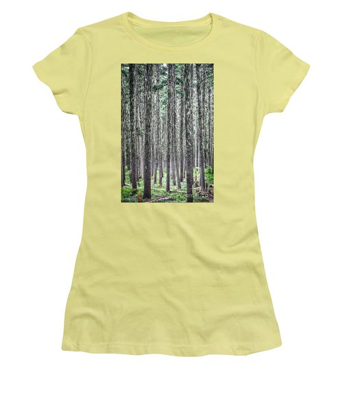 Hairy Forest Women's T-Shirt (Athletic Fit)
