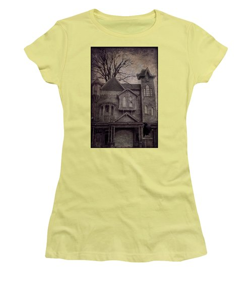 Halloween In Old Town Women's T-Shirt (Athletic Fit)