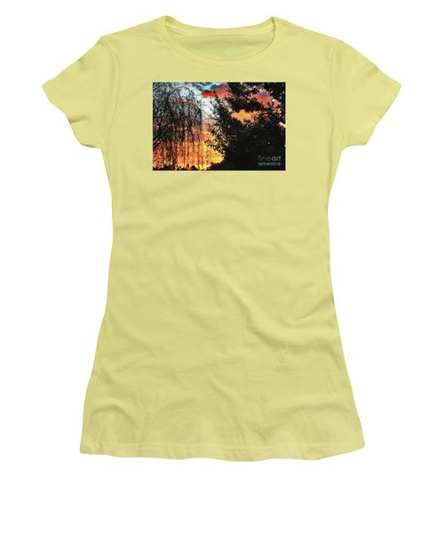 Halloween Sunrise 2015 Women's T-Shirt (Athletic Fit)