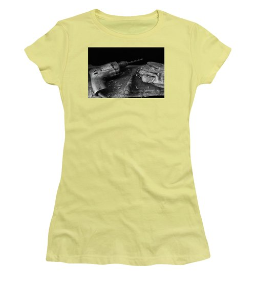 Women's T-Shirt (Junior Cut) featuring the photograph Hand Tools 3 by Richard Rizzo