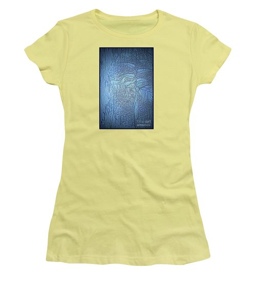 Hanging In Blue Women's T-Shirt (Athletic Fit)