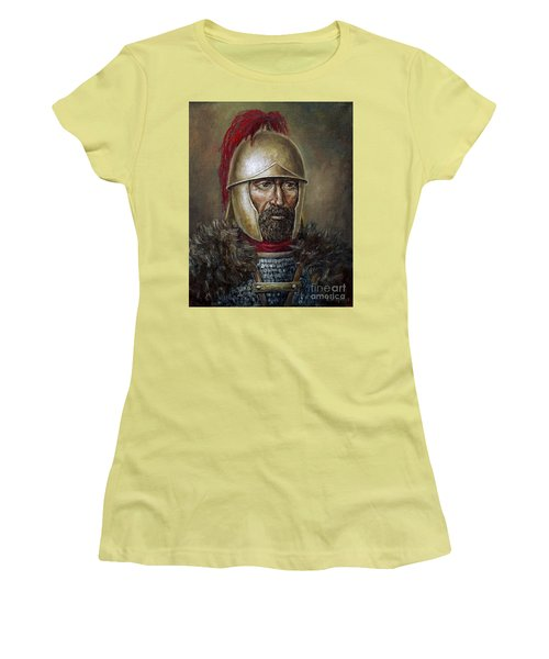 Hannibal Barca Women's T-Shirt (Junior Cut) by Arturas Slapsys