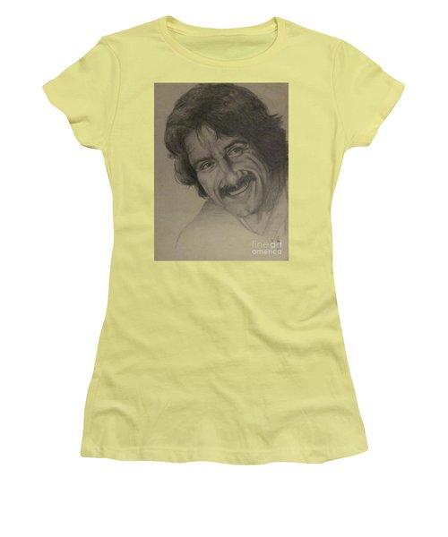 Happy Women's T-Shirt (Junior Cut) by Annemeet Hasidi- van der Leij