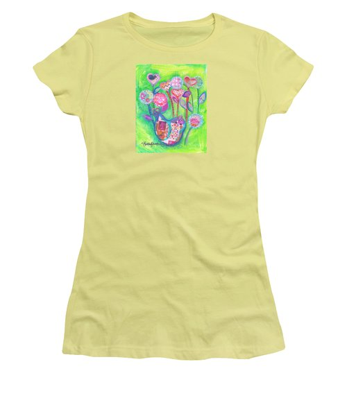 Happy Birthday Mindy Birdy Women's T-Shirt (Athletic Fit)