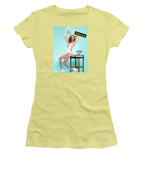 Happy Hanukkah 2 Women's T-Shirt (Athletic Fit)