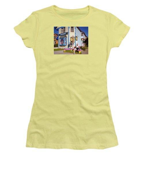 Happy Woman Women's T-Shirt (Athletic Fit)