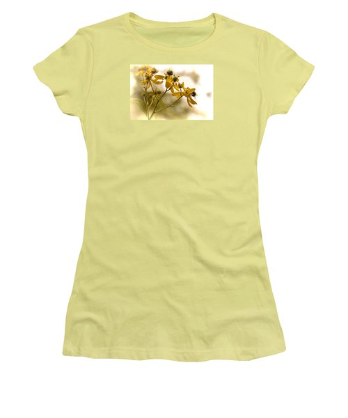 Women's T-Shirt (Junior Cut) featuring the photograph Hard At Work by Dennis Lundell