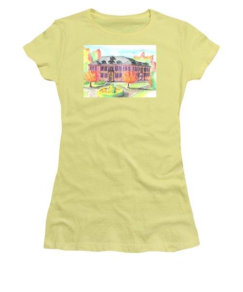 Hardie Building Beverly Women's T-Shirt (Junior Cut) by Paul Meinerth