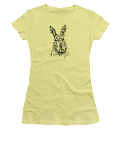 Hare Women's T-Shirt (Athletic Fit)