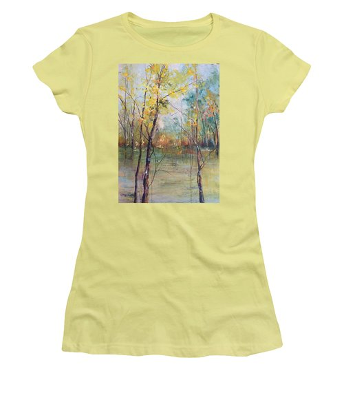 Harmony In Perfect Key Women's T-Shirt (Junior Cut) by Robin Miller-Bookhout