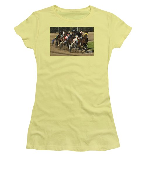 Harness Racing 9 Women's T-Shirt (Athletic Fit)