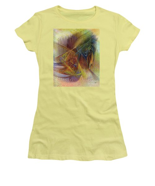 Harnessing Reason Women's T-Shirt (Athletic Fit)