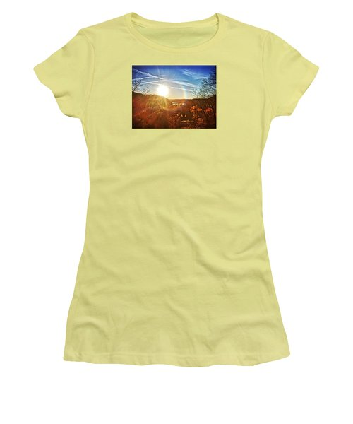 Harpers Ferry Sunset Women's T-Shirt (Athletic Fit)