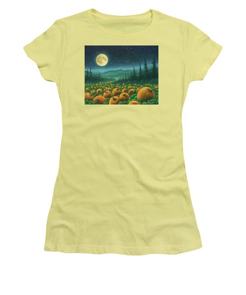 Harvest Moon 01 Women's T-Shirt (Athletic Fit)
