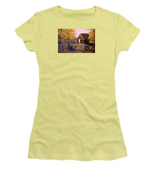 Harvest Time Women's T-Shirt (Athletic Fit)