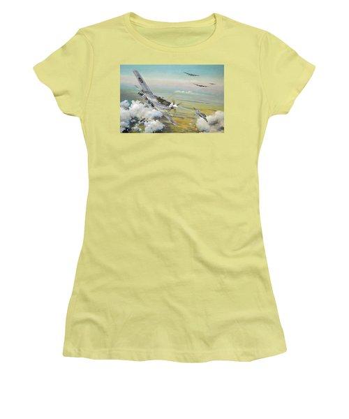 Haslope's Komet Women's T-Shirt (Athletic Fit)