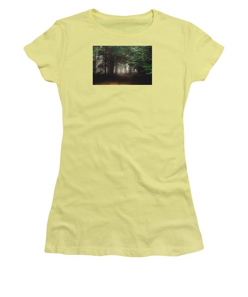 Haunted Forest #2 Women's T-Shirt (Athletic Fit)