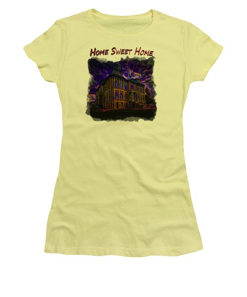 Haunted House 2 Women's T-Shirt (Athletic Fit)
