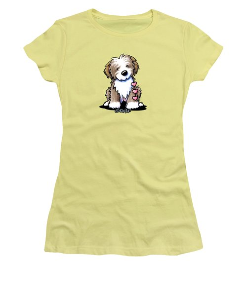Havanese Heartstrings Women's T-Shirt (Athletic Fit)