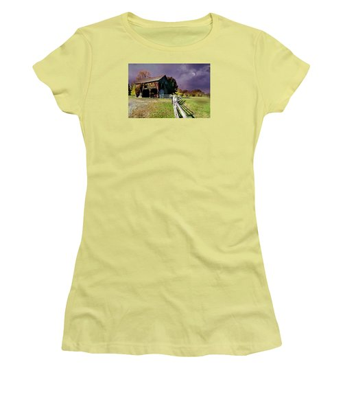 Time To Leave Women's T-Shirt (Junior Cut) by Diana Angstadt