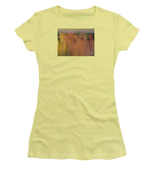 Hawkins Autumn Abstract 2015 Women's T-Shirt (Athletic Fit)