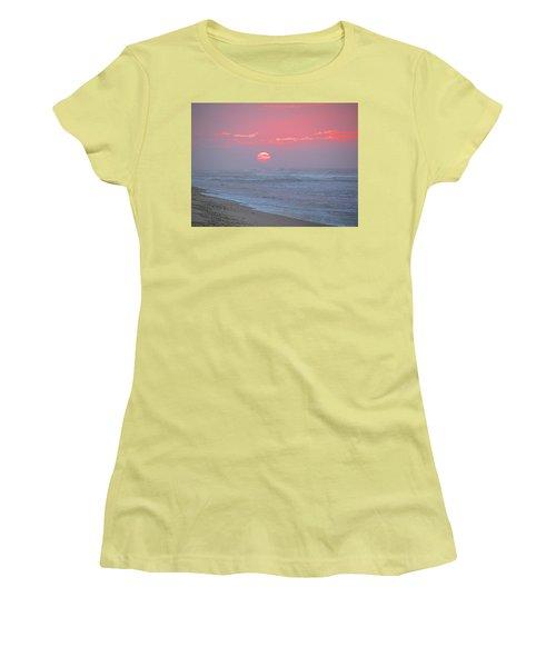 Hazy Sunrise I I Women's T-Shirt (Junior Cut) by  Newwwman