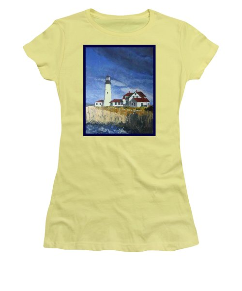 Head Lighthouse  Women's T-Shirt (Athletic Fit)