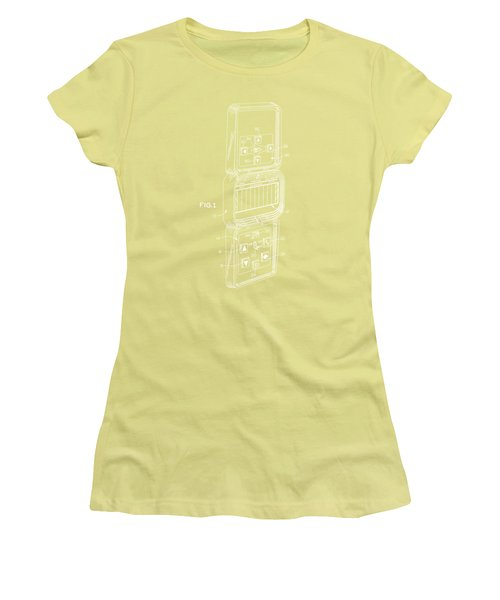 Head To Head Football White T-shirt Women's T-Shirt (Junior Cut) by Edward Fielding