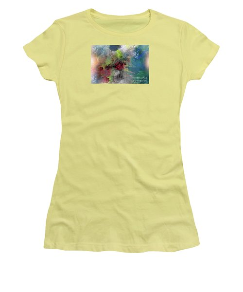 Heart Of The Matter Women's T-Shirt (Junior Cut) by Allison Ashton