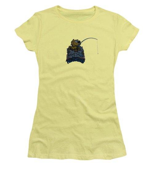 Heathcliff Women's T-Shirt (Junior Cut) by Tom Prendergast