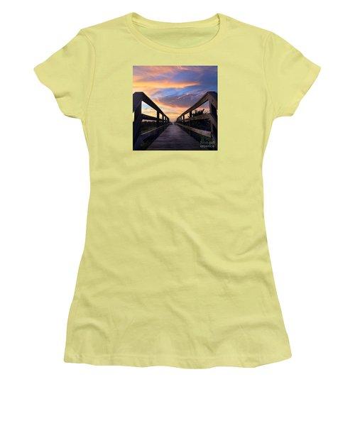 Heavenly  Women's T-Shirt (Junior Cut) by LeeAnn Kendall