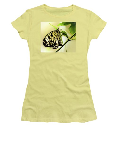 Heaven's Door Hath Opened Women's T-Shirt (Junior Cut) by Karen Wiles