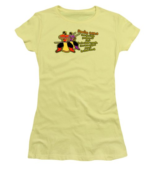 Hebrew Soldier Brothahood Pt1 Women's T-Shirt (Athletic Fit)