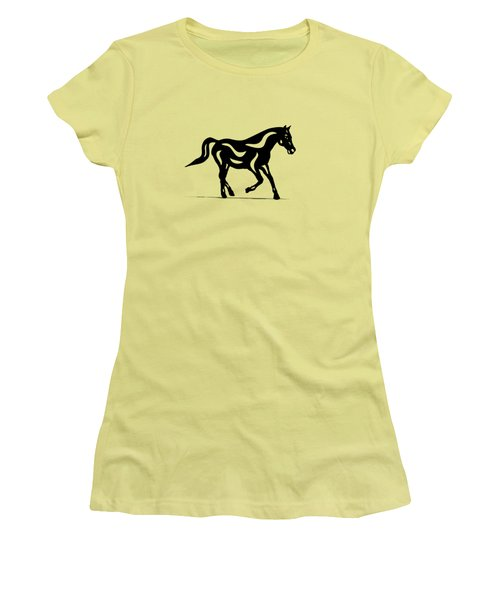 Heinrich - Abstract Horse Women's T-Shirt (Athletic Fit)
