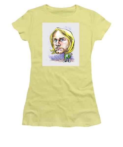 Hello Kurt Women's T-Shirt (Junior Cut) by John Ashton Golden