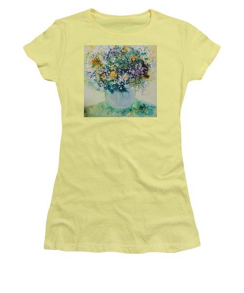 Herbal Bouquet Women's T-Shirt (Athletic Fit)