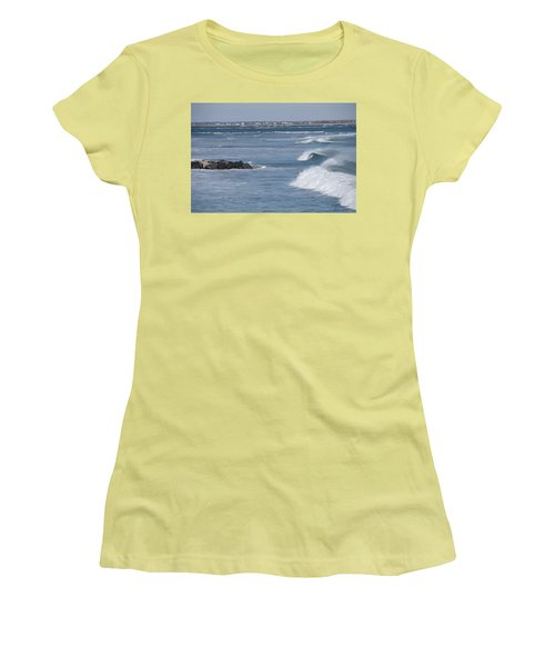 Hereford Inlet Women's T-Shirt (Junior Cut) by Greg Graham