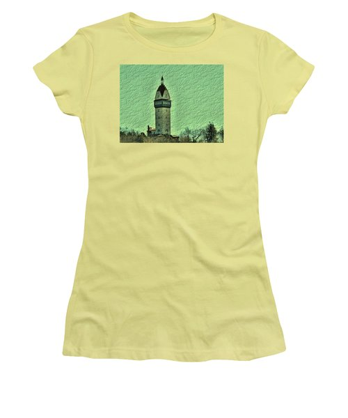 Heublein Tower Women's T-Shirt (Athletic Fit)