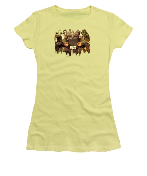 Hey A Model T Ford Truck Women's T-Shirt (Junior Cut) by Thom Zehrfeld