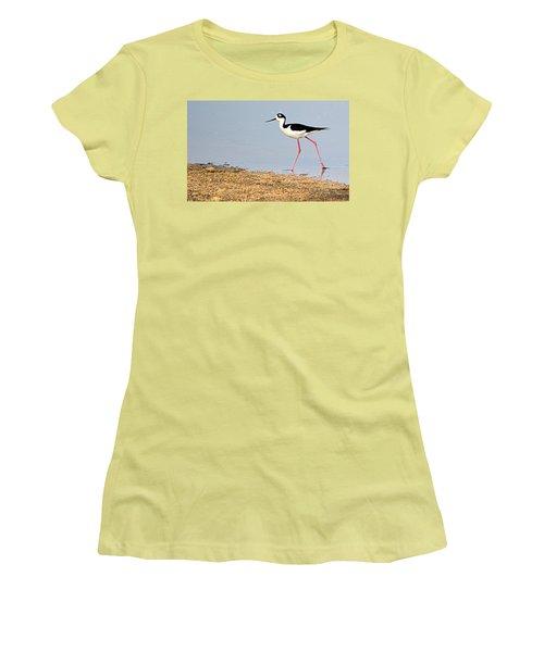 Hi-stepper Women's T-Shirt (Athletic Fit)