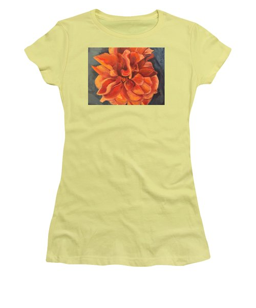 Hibiscus Women's T-Shirt (Athletic Fit)