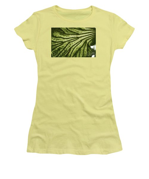 Hibiscus Tiliaceus Variegata 3 Women's T-Shirt (Athletic Fit)